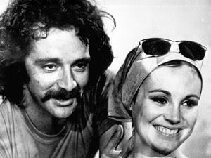 Claudio Marzo e Regina Duarte em Minha Doce Namorada (Foto: Divulgação/TV Globo)