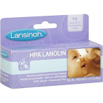 Lansinoh HPA Lanolin Cream for Breastfeeding Mothers - 1.41 oz tube