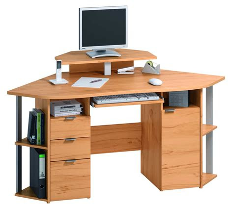 home office computer desk furniture compact corner