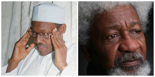 ONLY The Naive Will promote A Buhari presidency -WOLE SOYINKA - Nigeria Best Celebrity Entertaining Blog