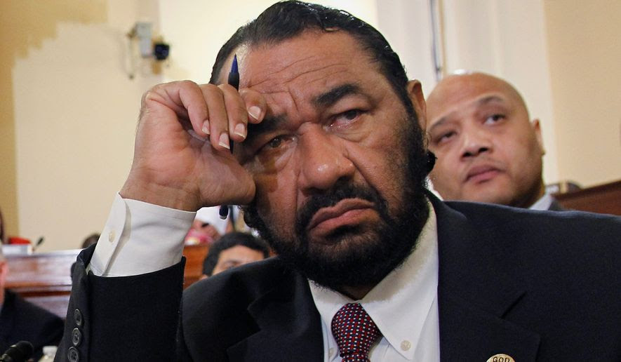 Rep. Al Green, Texas Democrat (Associated Press) **FILE**