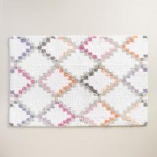Geometric Dylan Bath Mat $16.99