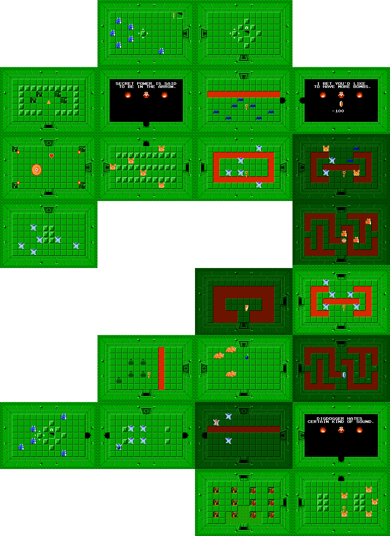 Legend Of Zelda Map Quest 1 : legend, zelda, quest, Legend, Zelda, Maping, Resources