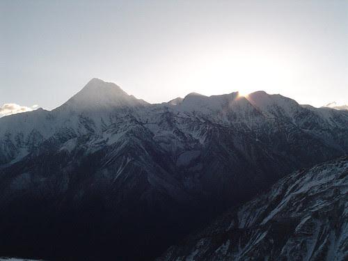 Gonga Shan side view
