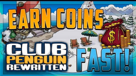fastest way to get coins on club penguin