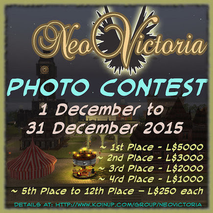 Neo Victoria 2015 Photo Contest! | The NeoVicto...