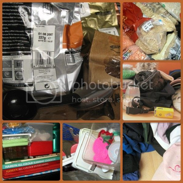 Photo collage - De-cluttering Week 7
