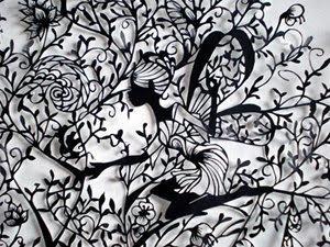 切り絵の図案をフリーで公開しているサイトtoxelcom Diarylog