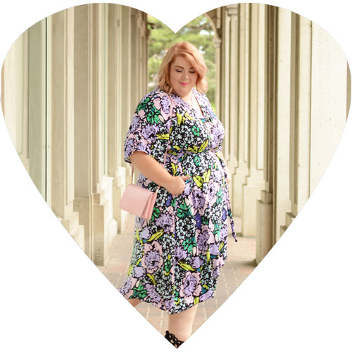 All Wraped Up | Plus Size Wrap Dress