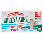 Nature's Own Green Label 9 in Paper Plate, 1,200-count