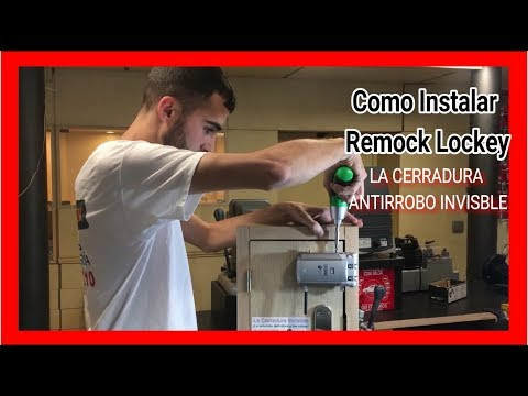 Remock Lockey Cerradura De Seguridad Invisible
