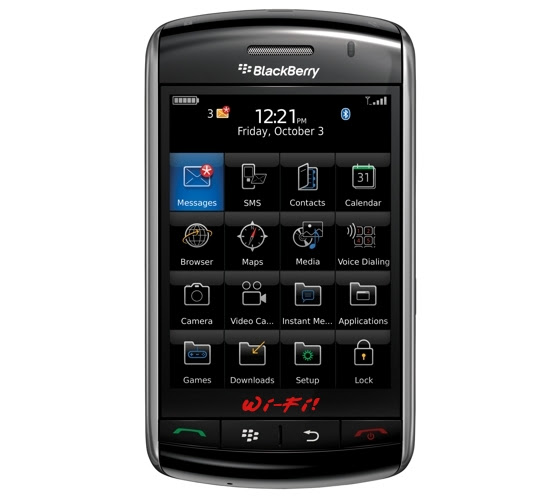 blackberry storm wi fi Top 10 Mobiles 2010