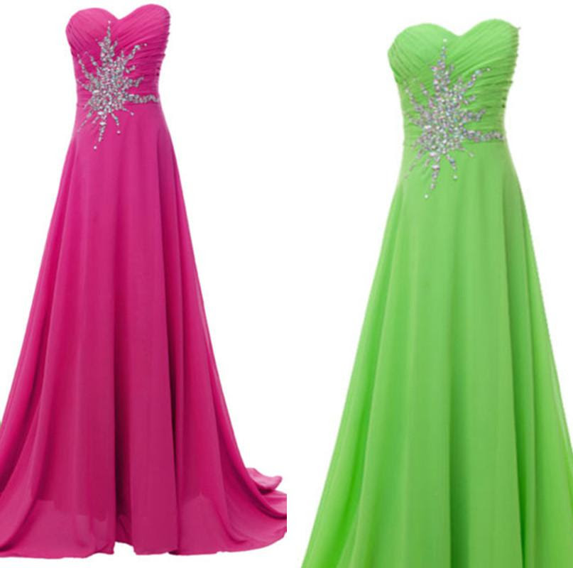 Aquellacanciondelos80 Lime Green And Hot Pink Bridesmaid Dresses Images