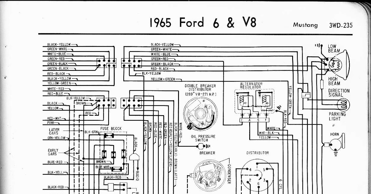 1965 Mustang Turn Signal Wiring Diagram