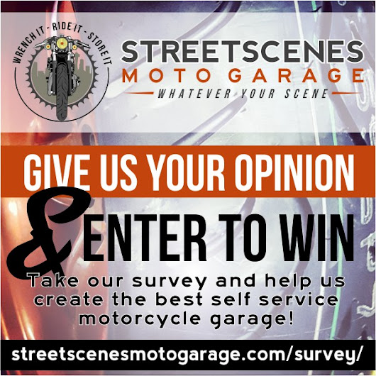 Survey - Self Service DIY Motorcycle Garage | Streetscenes Moto Garage