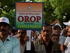 Rs 1, 465 Crore Paid To Ex-Servicemen As First Instalment Under OROP