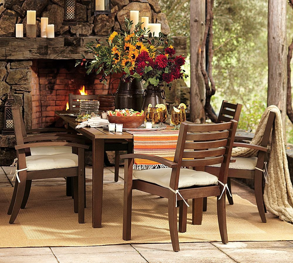 Outdoor Garden Furniture - Comfy, Rustic-Yet-Refined Style ...