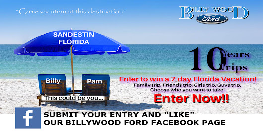 Four Lucky Winners will Win a 7 Day Florida Vacation!