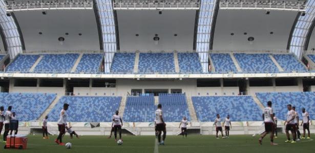 Arena das Dunas foi único estádio que levou cinco estrelas em todos os quesitos