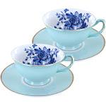 Rosemoor Tea Cup and Saucer Set - Set of 2