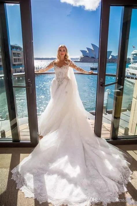 2018 Designer Luxury Middle East Mermaid Wedding Dresses