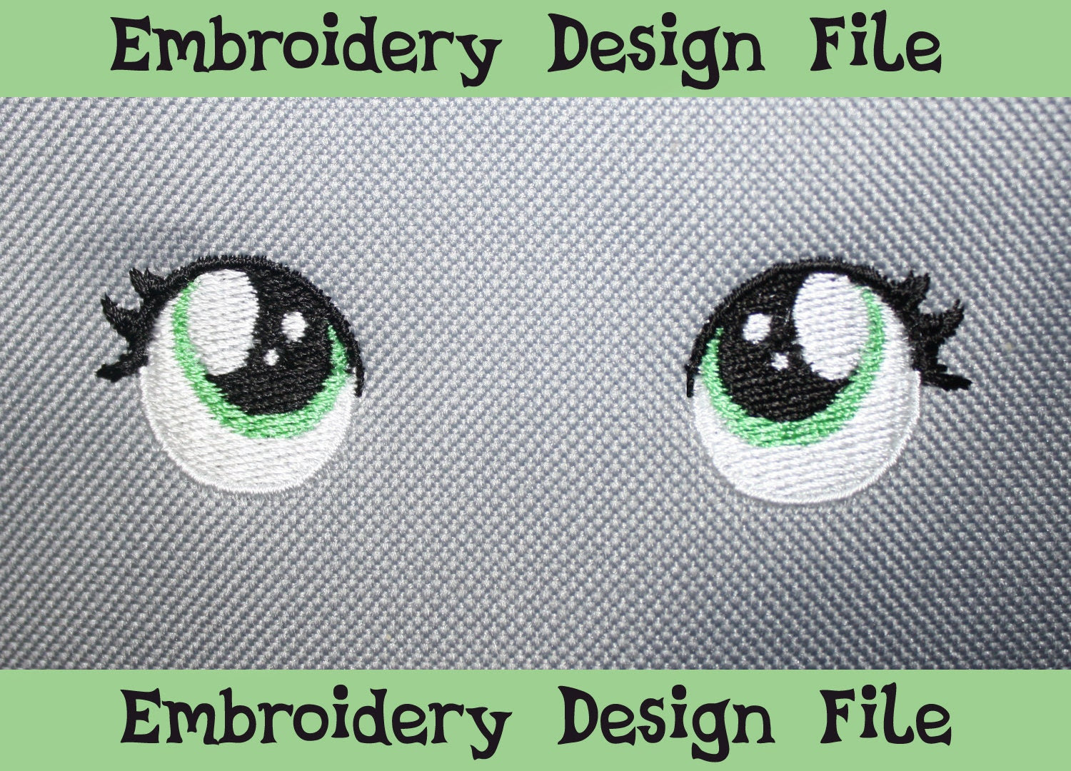 Embroidery Eyes