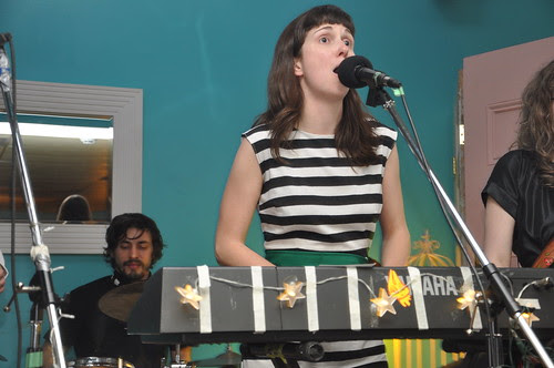 Krista Muir and The Imaginary Lads at Raw Sugar