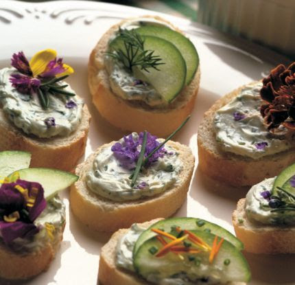 Edible Flower Recipe