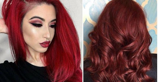 Tendencia color de cabello Red Velvet