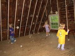 Look!  The loft is haunted!