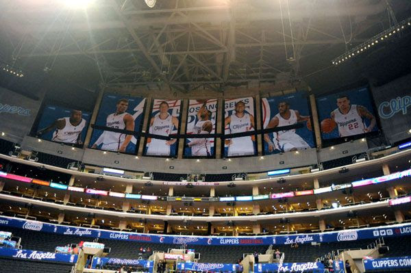 The Los Angeles Clippers are trying to hide the fact that they still play in the House of Lakers.