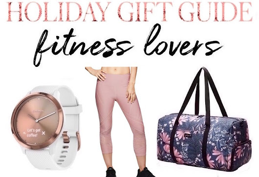 25 Holiday Gift Ideas For the Fitness-Lover in Your Life