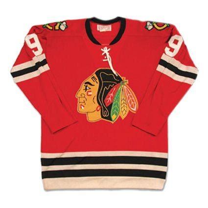 Chicago Blackhawks 64-65 jersey, Chicago Blackhawks 64-65 jersey