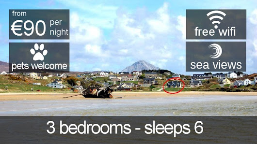 Seawater House Bunbeg • Donegal Holiday Accommodation