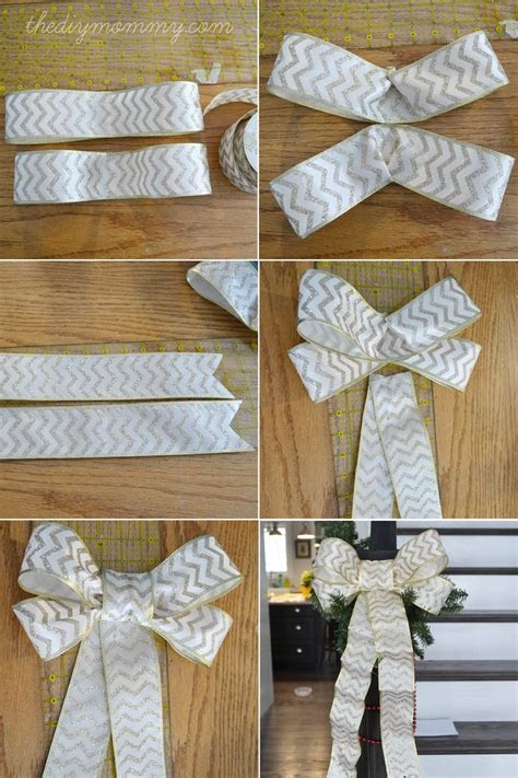 Make DIY Wired Ribbon Bows   Fun craft ideas I will