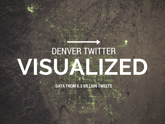 The Amazing Denver Twitter Visualization Map