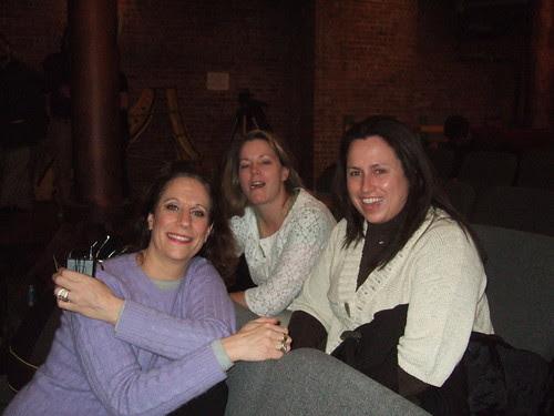 Lizz, Carol and Beth