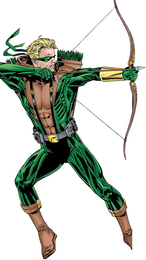 Dc Comics Bow And Arrow