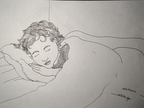 Joaquin dormido