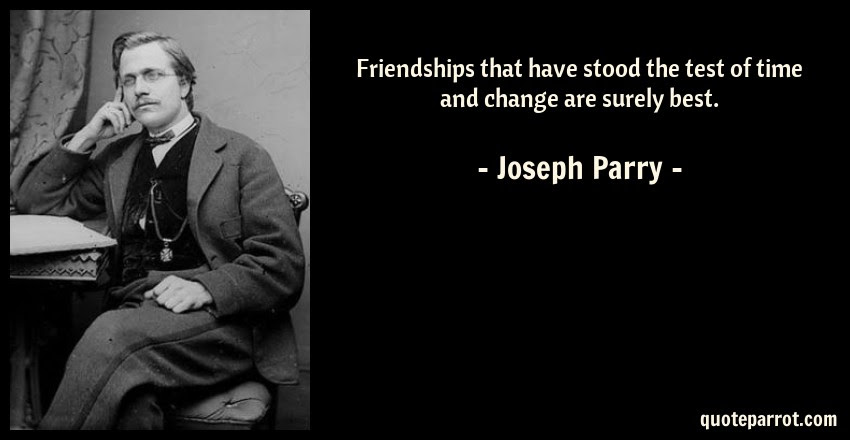 Friendships That Have Stood The Test Of Time And Change By Joseph
