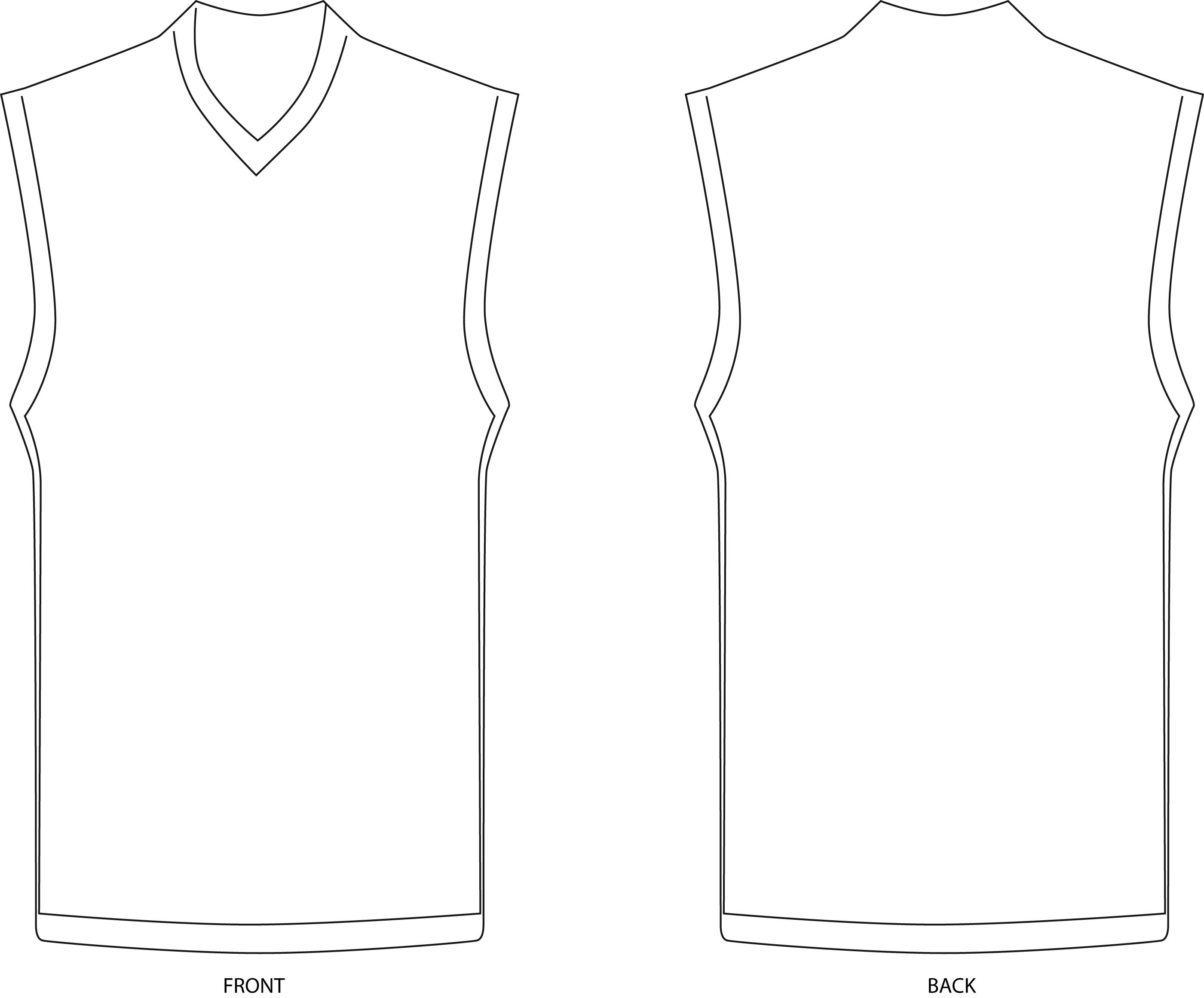 Jersey Template | Free Download Clip Art | Free Clip Art | on ...
