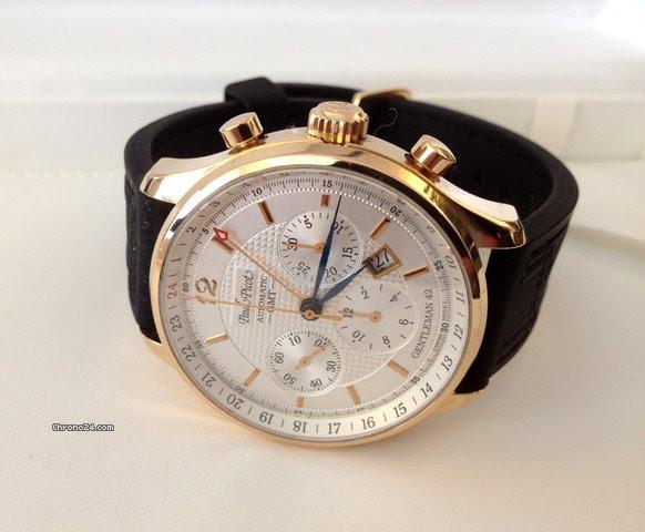 Paul Picot Gentlemen GMT Chronograph Gold 18 krt (42 mm)