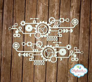 Стимпанк. Композиция [1] ― Магазин-производство товаров для рукоделия и скрапбукинга.
