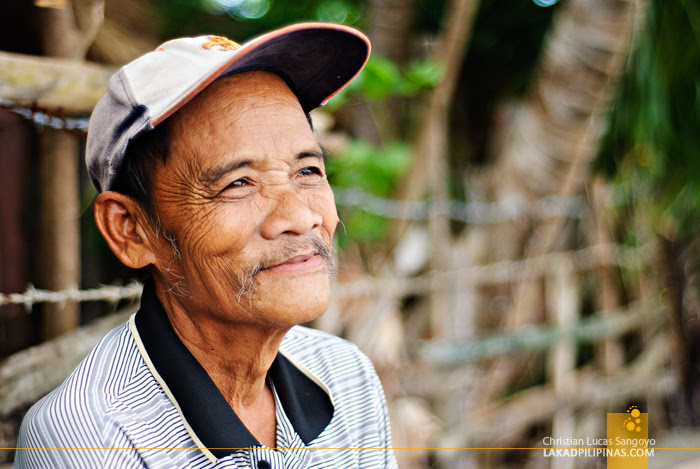Mang Canoy, a Resident of Linamon's Mago-ong Beach