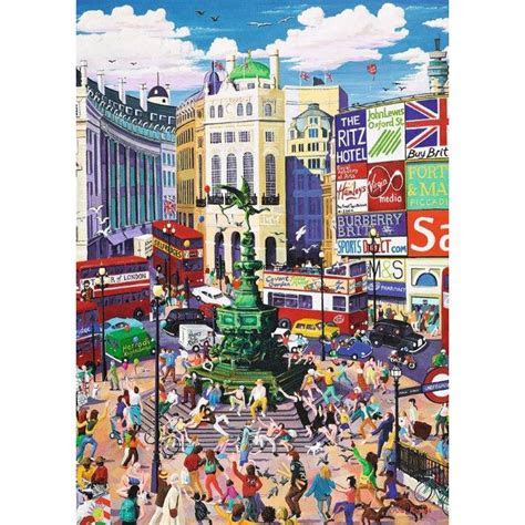 Ravensburger Piccadilly Circus 1000 Piece Jigsaw Puzzle