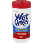 Wet Ones Hand Wipes, Antibacterial, Fresh Scent - 40 wipes