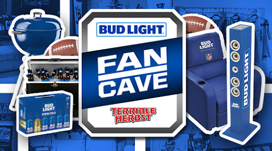 Bud Light Superbowl Man Cave