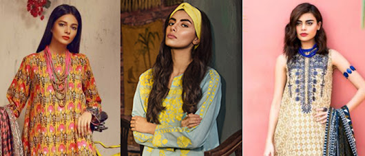 New Khaadi Summer Collection 2018 for Girls - StyleGlow.com