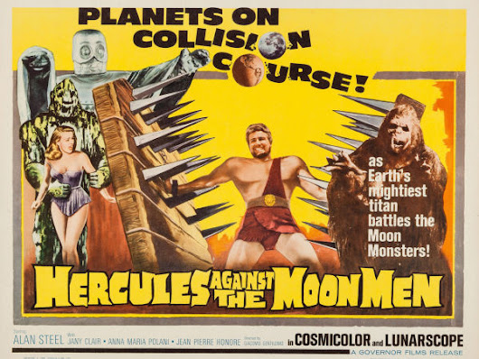 "SUNDAY CINEMA: Watch the SciFi Classic ""Hercules Against the Moon Men""...or the MST3K Heckling of It"
