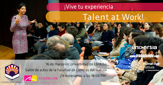 TALENT AT WORK - El futuro está en tus manos